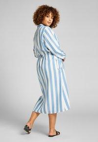 Lee Plus - LONG WORKER  - Shirt dress - dawn blue - 5