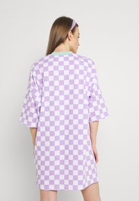 The Ragged Priest - STOKED DRESS - Jersey dress - purple/white - 2