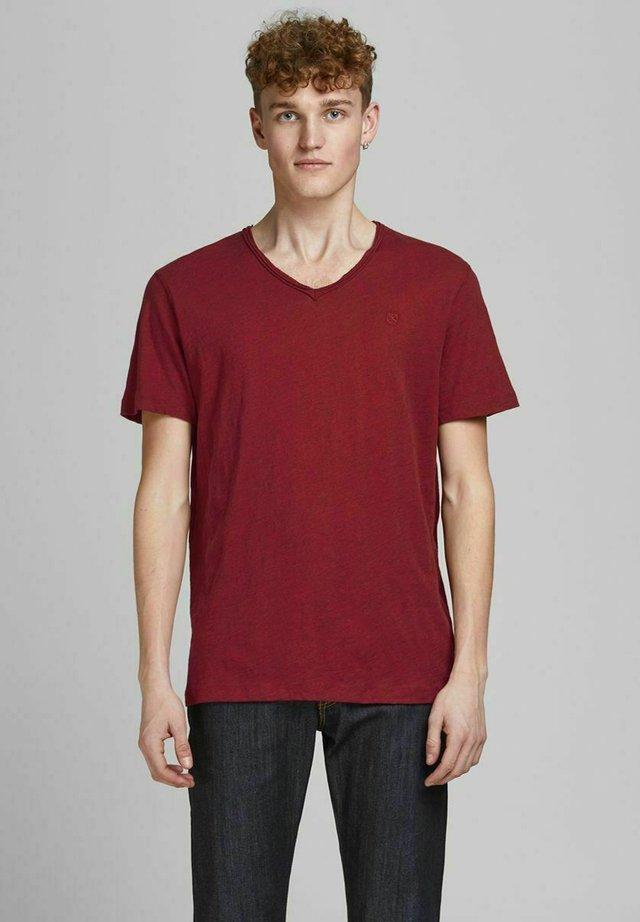 T-shirt basic - rio red