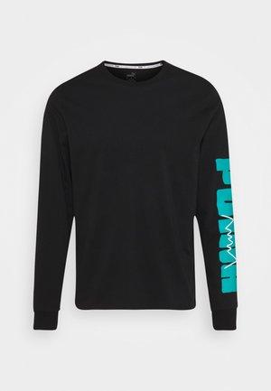 PARQUET GRAPHIC TEE - T-shirt à manches longues - black