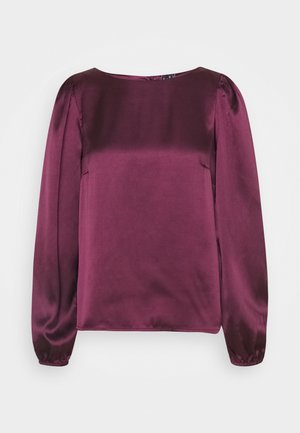 VMMADDIE BUTTON  - Long sleeved top - fig