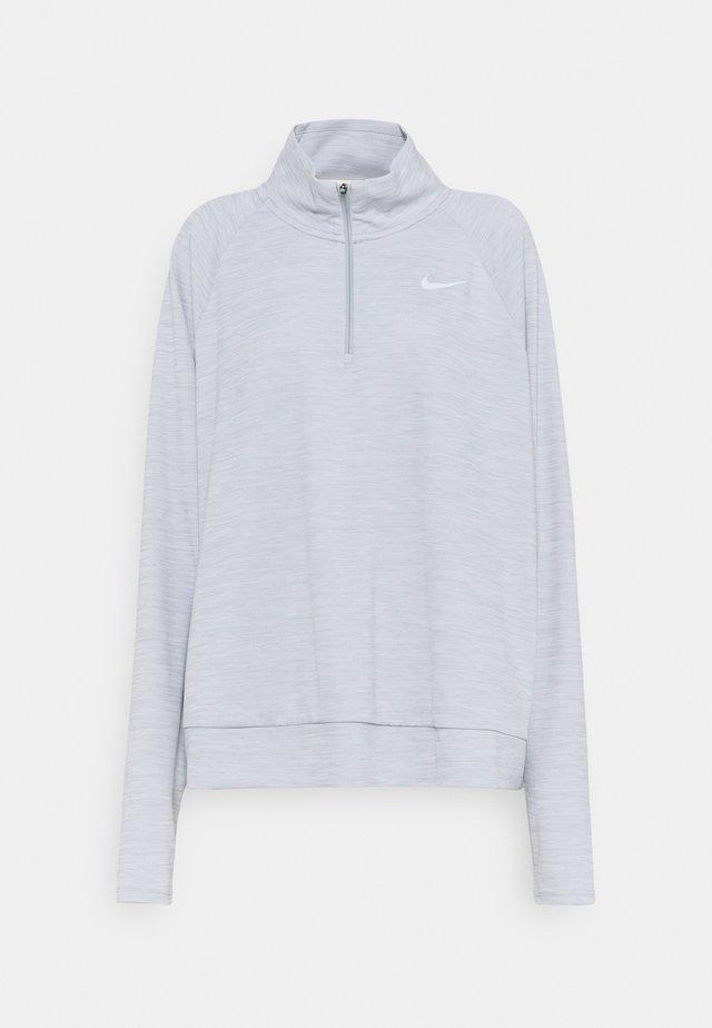 PACER - Long sleeved top - smoke grey