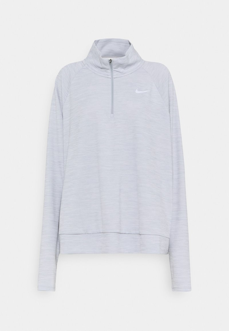 Nike Performance - PACER - Long sleeved top - smoke grey