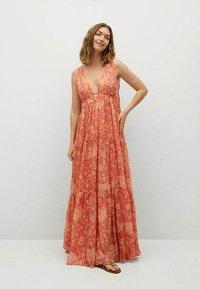 Mango - Maxi dress - orange - 0