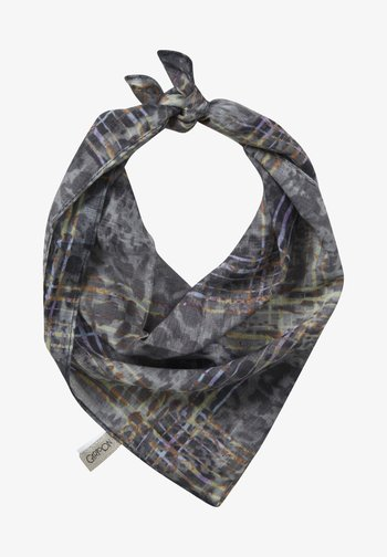 Scarf - taupe/yellow