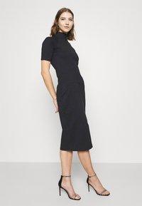 G-Star - MOCK SLIM DRESS SLEEVE - Shift dress - dark blue - 3