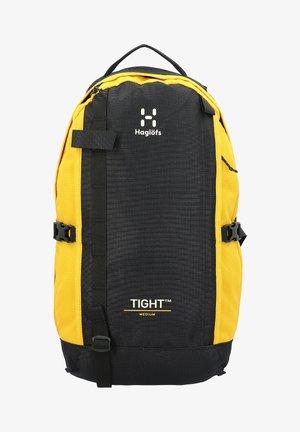 TIGHT - Zaino - true black pumpkin yellow