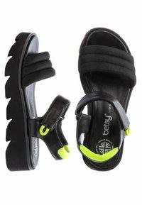 Betsy - Platform sandals - black - 3