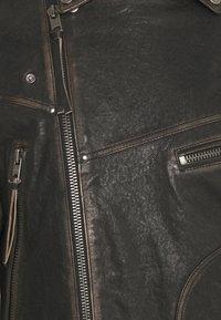 Tigha - NEVAN - Leather jacket - vintage black - 6