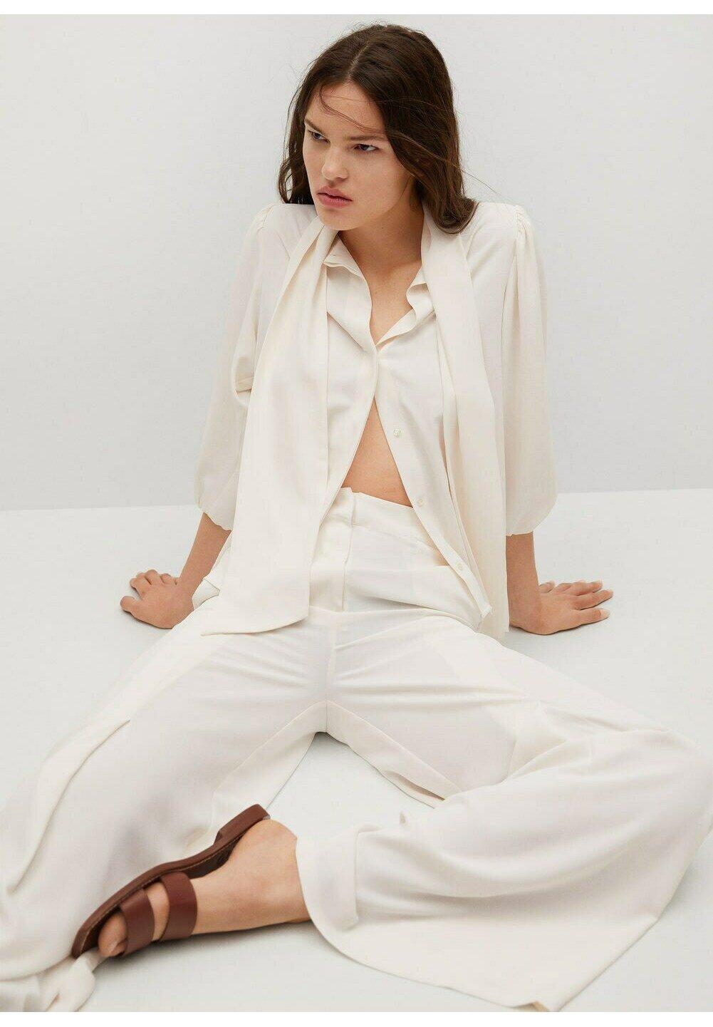 Women FLUIDE TEXTURÉE - Button-down blouse