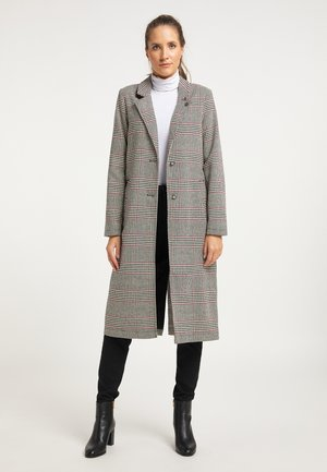 MANTEL - Short coat - glencheck