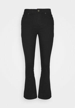 JOHANNA KICK FLARE - Flared Jeans - black