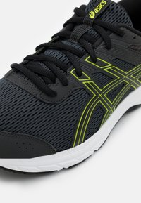 ASICS - GEL CONTEND 6 - Neutral running shoes - graphite grey/lime zest - 5