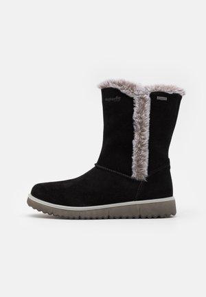 LORA - Snowboot/Winterstiefel - schwarz