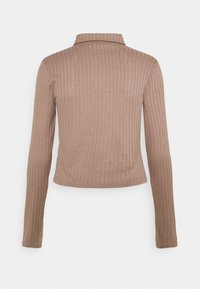 Nly by Nelly - DOUBLE ZIP - Cardigan - nougat - 1