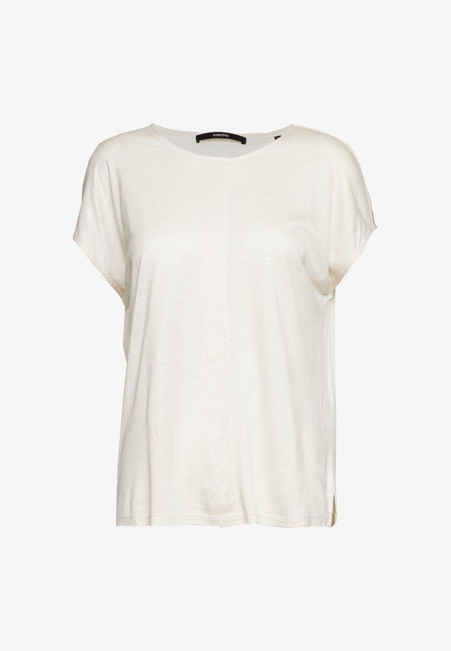 KUSANA - T-shirt basic - soft stone