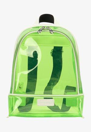 Rucksack - neon grün