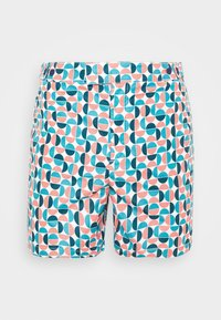 TRUNKS TAILORED SHORT SHADE - Plavky - ocean / coral