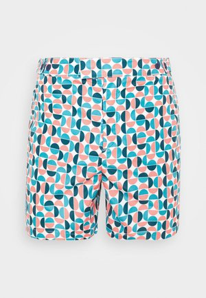 TRUNKS TAILORED SHORT SHADE - Swimming shorts - ocean / coral