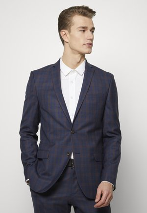 OVERCHECK SUIT - Oblek - navy