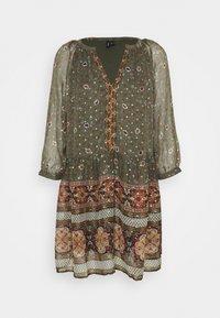 Vero Moda - VMBOHEMEA SHORT DRESS - Sukienka letnia - ivy green/bohemea - 4