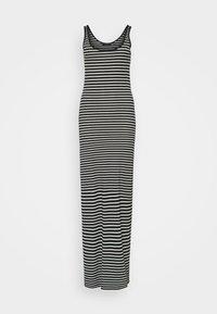 Vero Moda Tall - VMNANNA ANCLE DRESS 2 PACK - Vestito lungo - black/black with snow white - 3