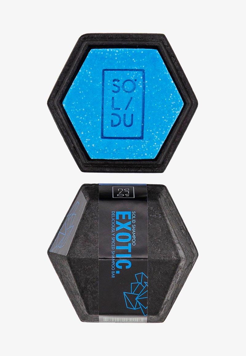 Solidu - SOLID SHAMPOO EXOTIC. - Shampoo - blue
