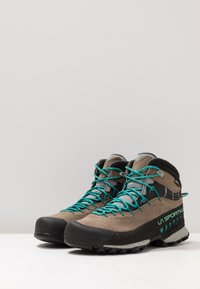 La Sportiva - TX4 MID WOMAN GTX - Hiking shoes - taupe/emerald - 2