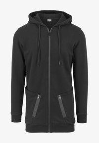 Urban Classics - Zip-up sweatshirt - black - 2