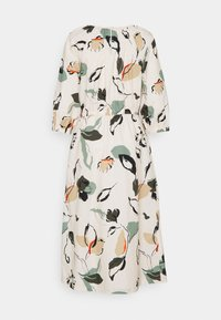 mine to five TOM TAILOR - DRESS MIDI PUFFED SLEEVES - Day dress - multi coloured - 1