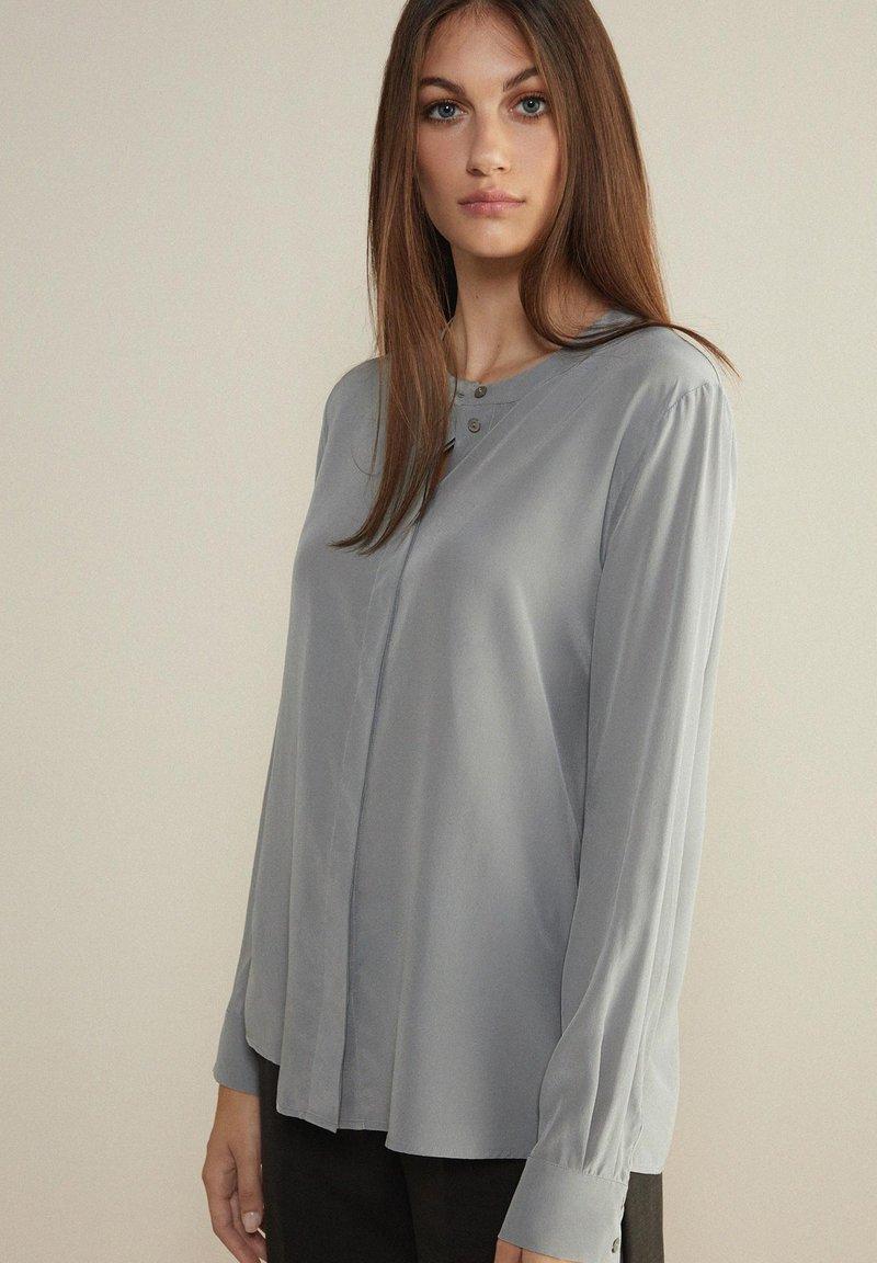 Falconeri - Button-down blouse - grau diamante