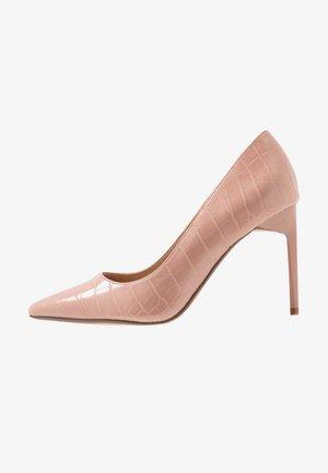 DESIREE SET BACK COURT - High Heel Pumps - blush
