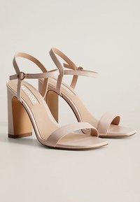 Mango - AIR - High heeled sandals - nude - 3