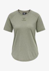 Hummel - HMLVANJA - Basic T-shirt - vetiver - 3