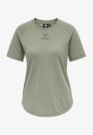 HMLVANJA - Basic T-shirt - vetiver