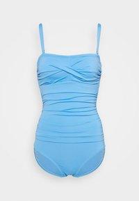 MAGIC BANDEAU - Swimsuit - blue