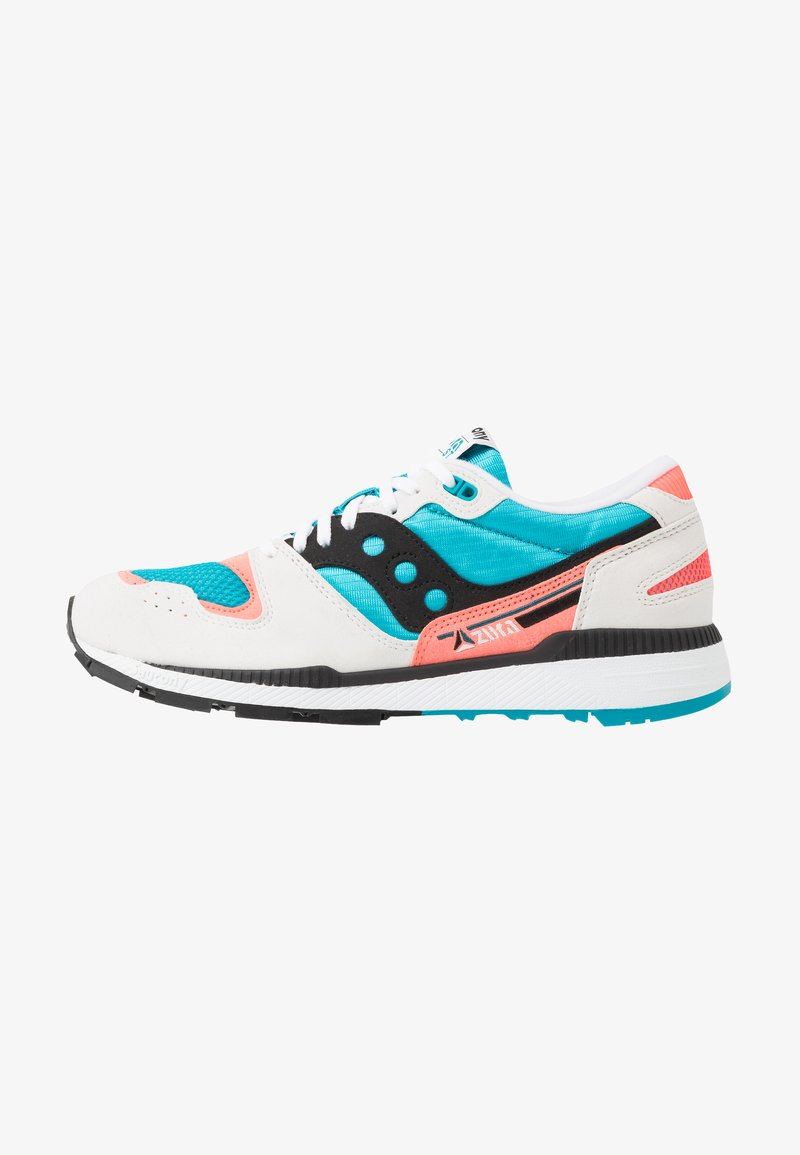 Saucony - AZURA - Baskets basses - white/capri/vizicoral