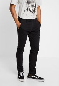 Only & Sons - ONSTARP WASHED - Chinos - black - 0