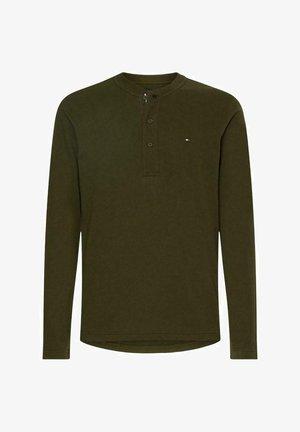 CLASSIC  - Long sleeved top - dark green