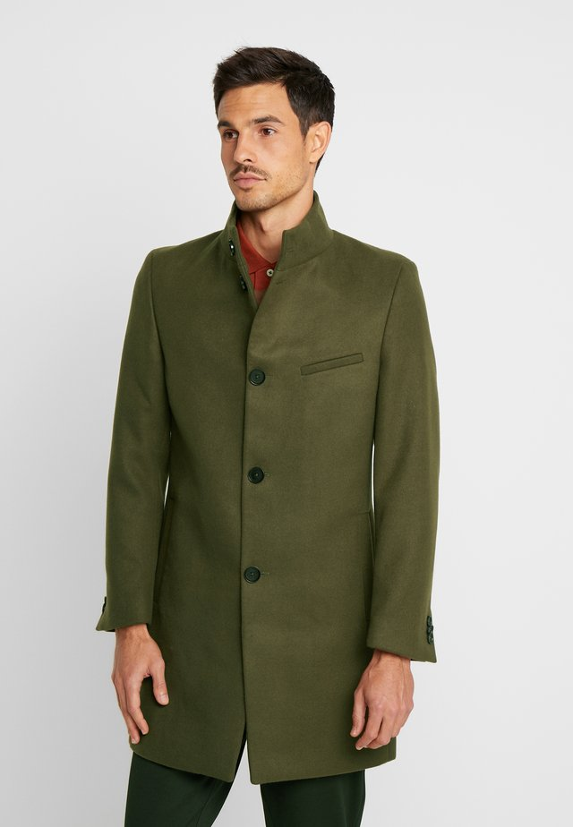 FUNNEL COAT - Classic coat - khaki