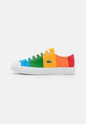 POLAROID GRIPSHOT - Trainers - yellow/offwhite