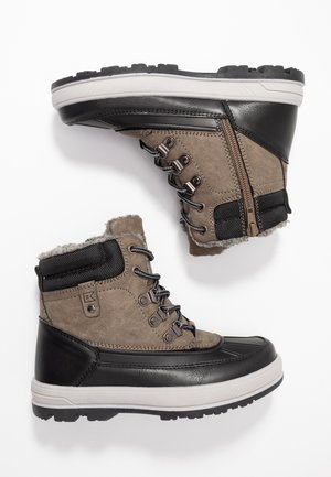 Winter boots - dark gray/black