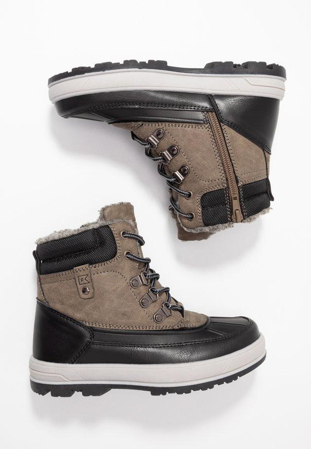Winter boots - dark gray/black