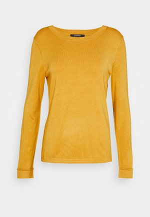 Jumper - honey yellow