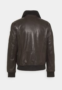 Strellson - ASTANO - Leather jacket - chocolate brown - 1