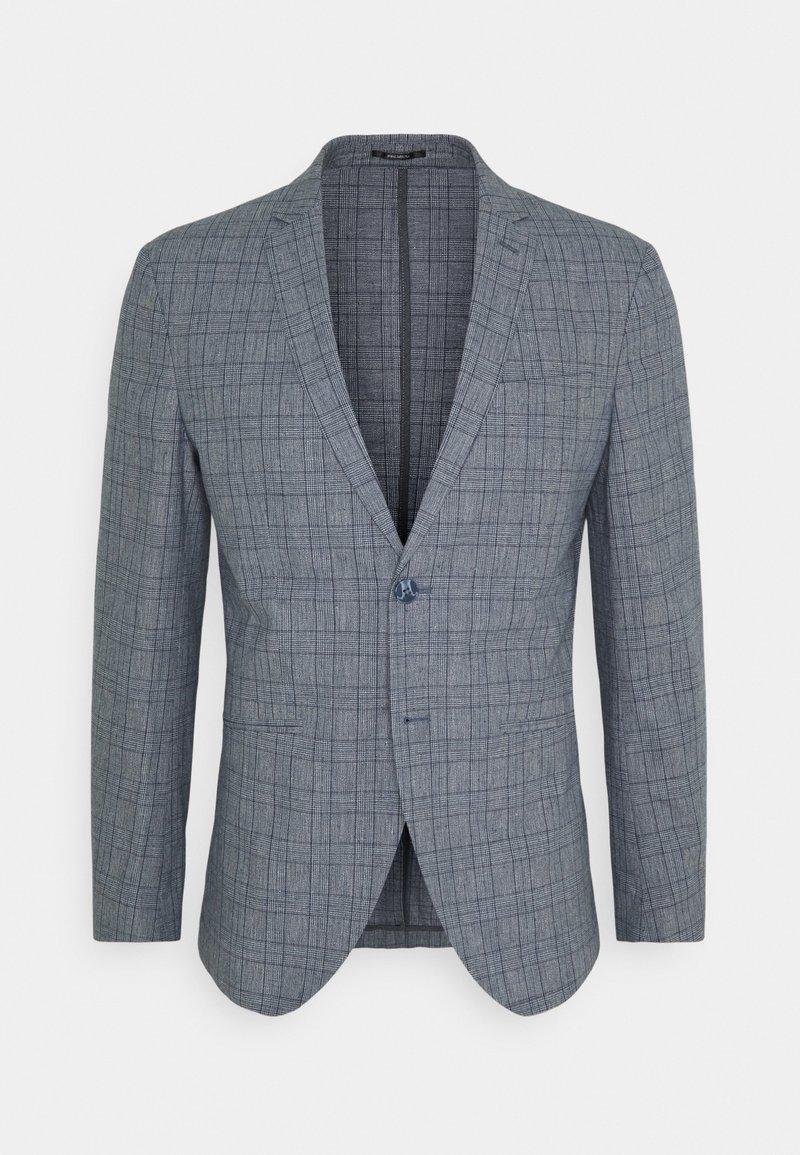 Jack & Jones PREMIUM - JPRRAY CHECK - Suit jacket - grey melange