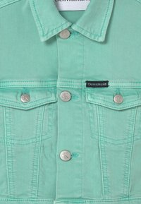 Calvin Klein Jeans - CROPPED  - Spijkerjas - dew green - 2