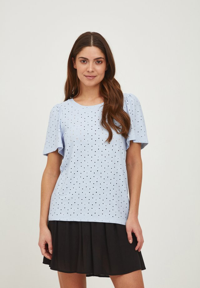 IHUMAY  - T-shirt con stampa - cashmere blue