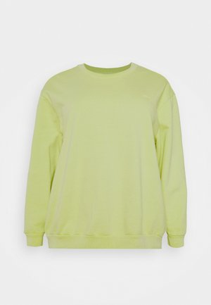 MELROSE SLOUCHY CREW - Felpa - shadow lime