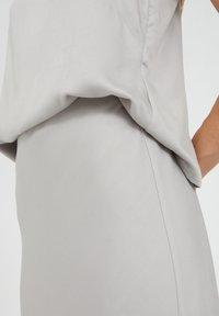 ARMEDANGELS - DEVORAA - A-line skirt - silver - 3